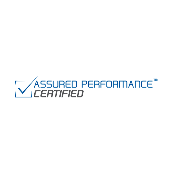 Certifications image - certificateassuredperformance