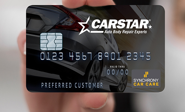 Carstar Credit Card Image View