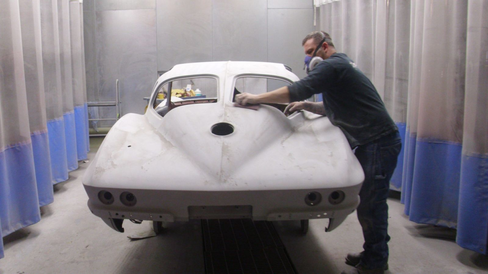 Mallaney's CARSTAR: Sanding Work