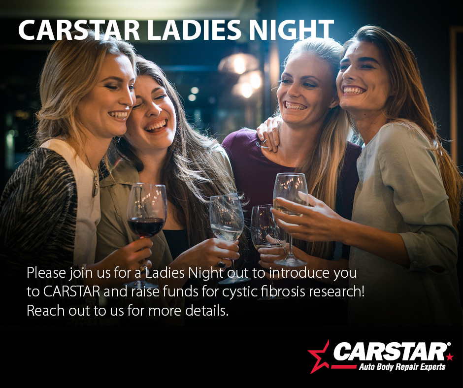 Ladies NIght for Cystic Fibrosis February 6, 2020 from 6-9 pm