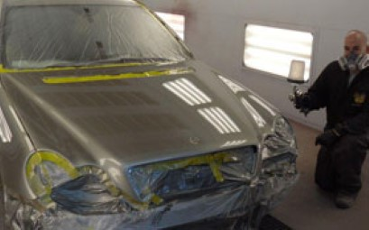 Empire CARSTAR: Car mid paint process