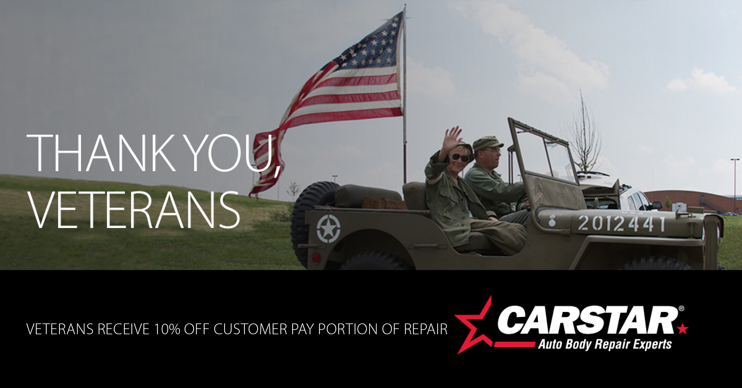 CARSTAR Quality Collision: Veterans Coupon