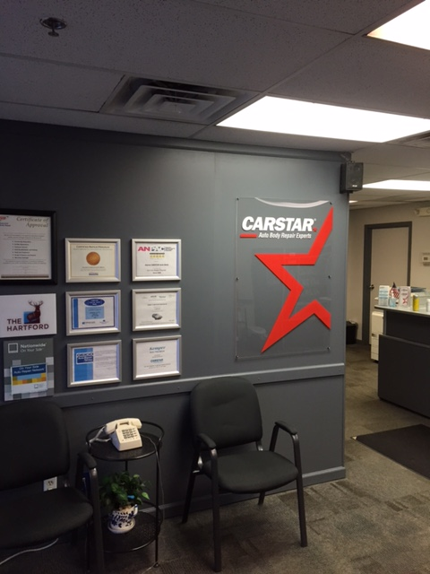 Alpine CARSTAR Auto Body: Waiting Room