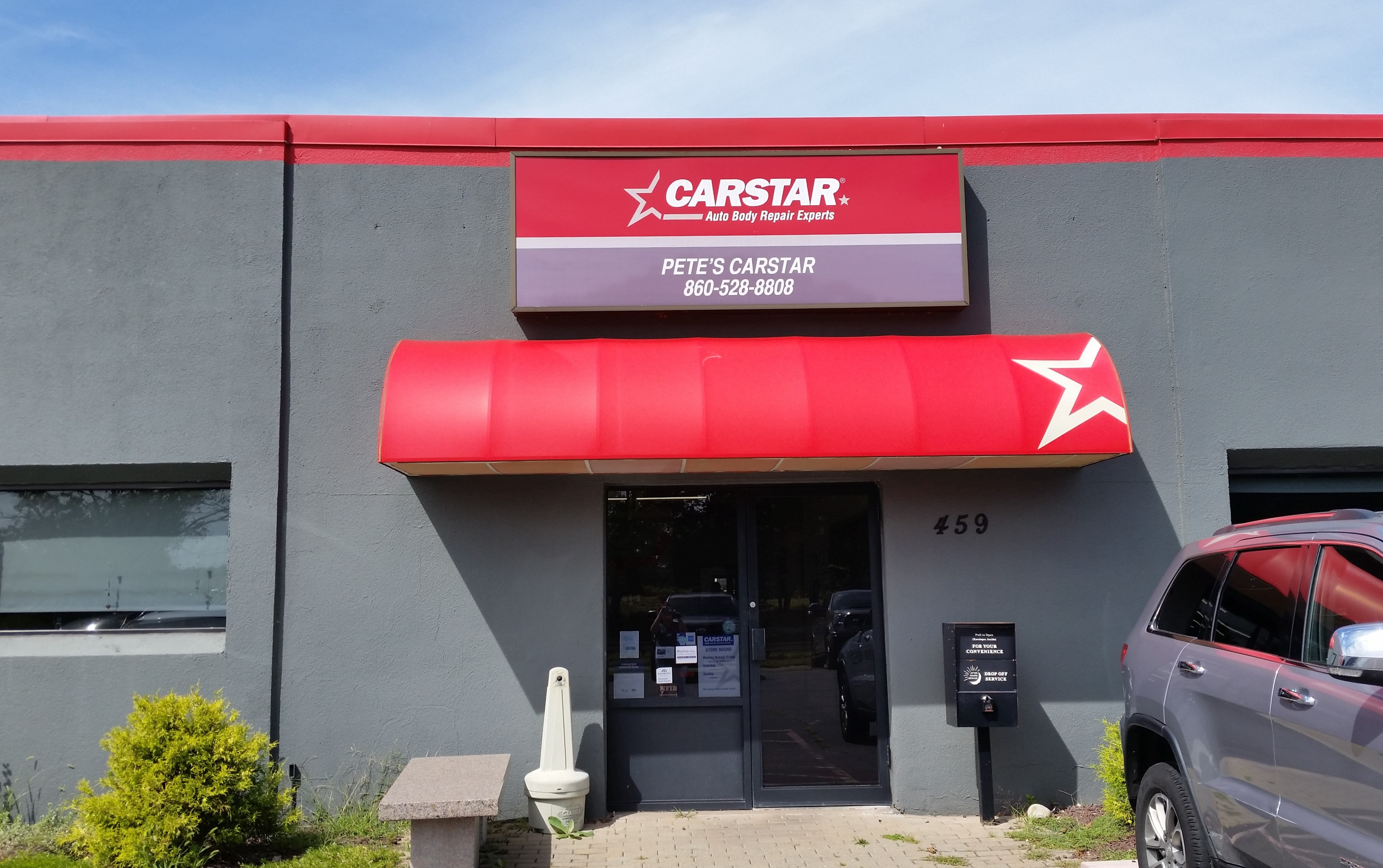 Exterior Pete's CARSTAR South Windsor CT