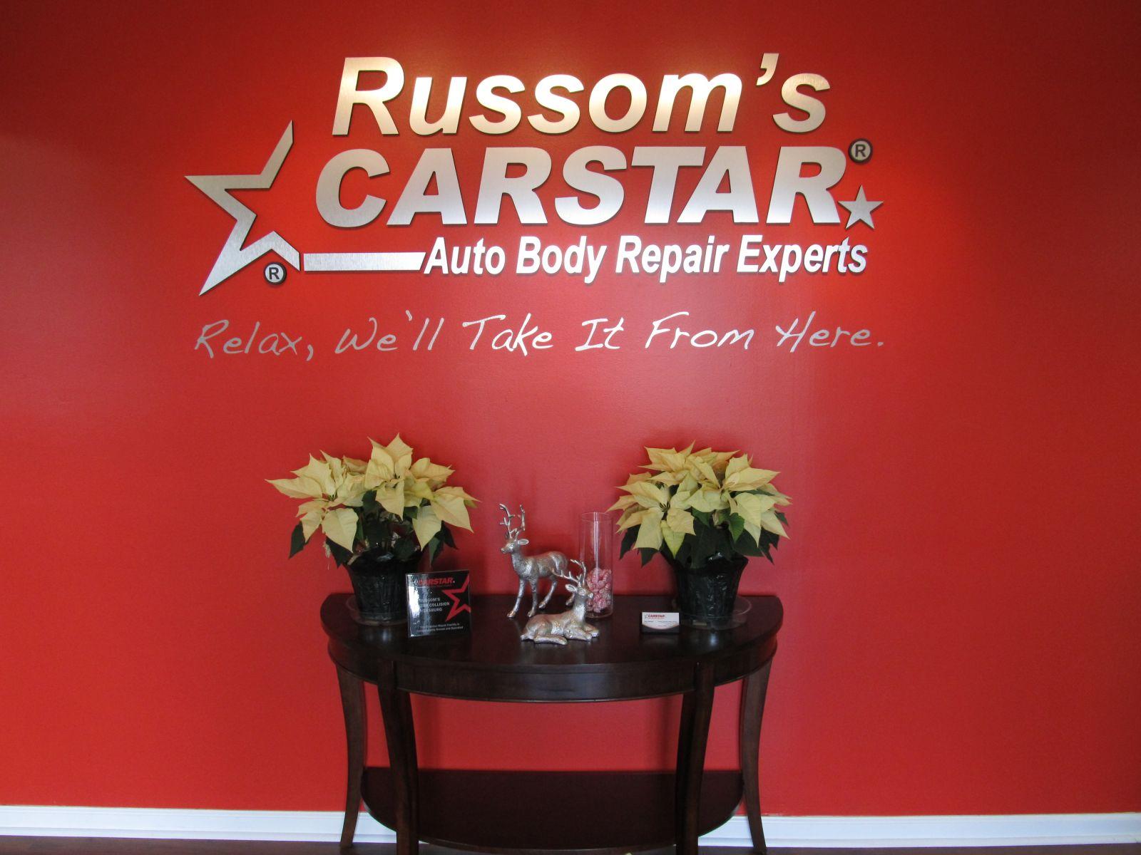 Carstar | Russom's CARSTAR: Front Office