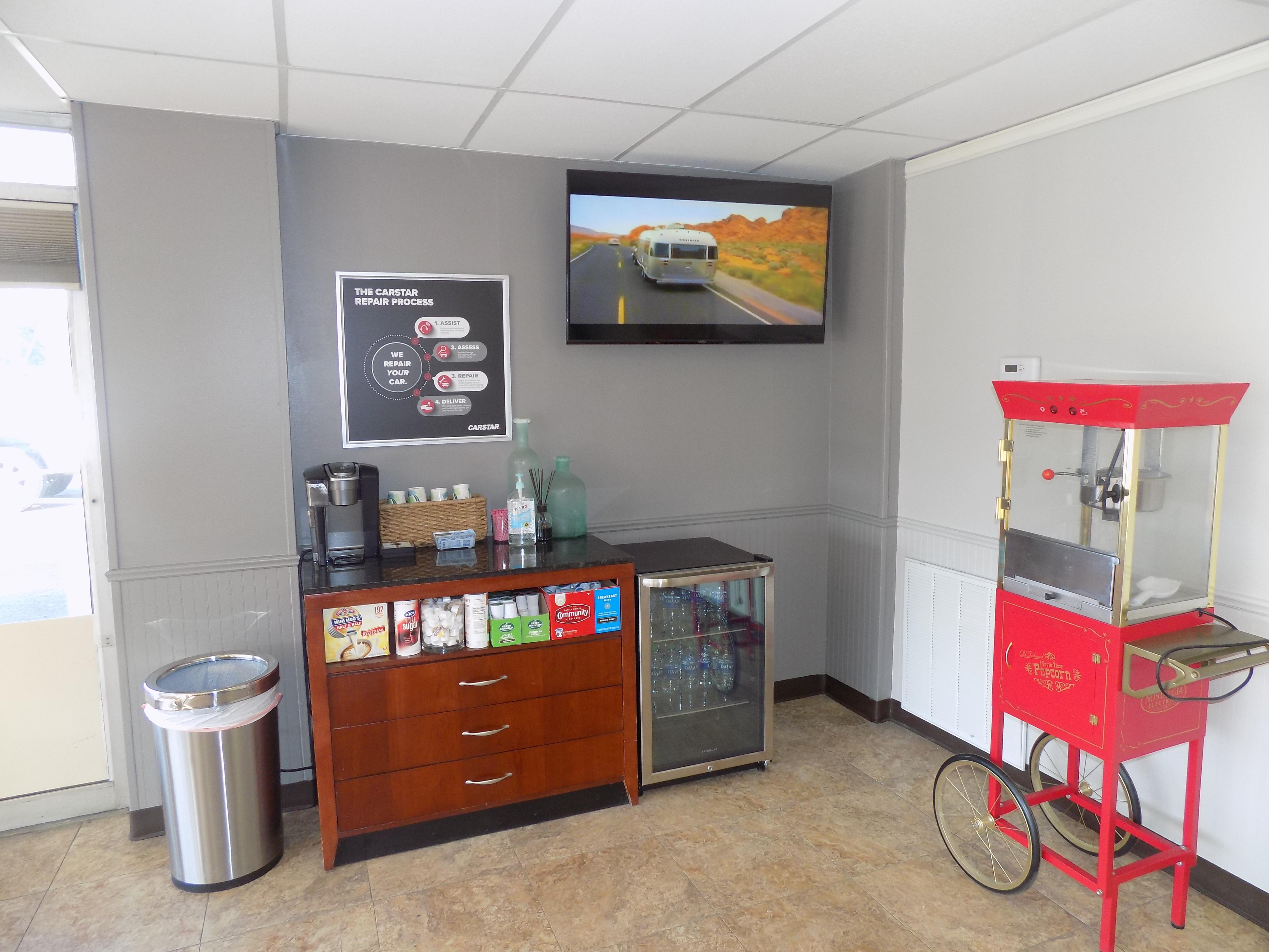 Carstar | Customer Refreshment Station