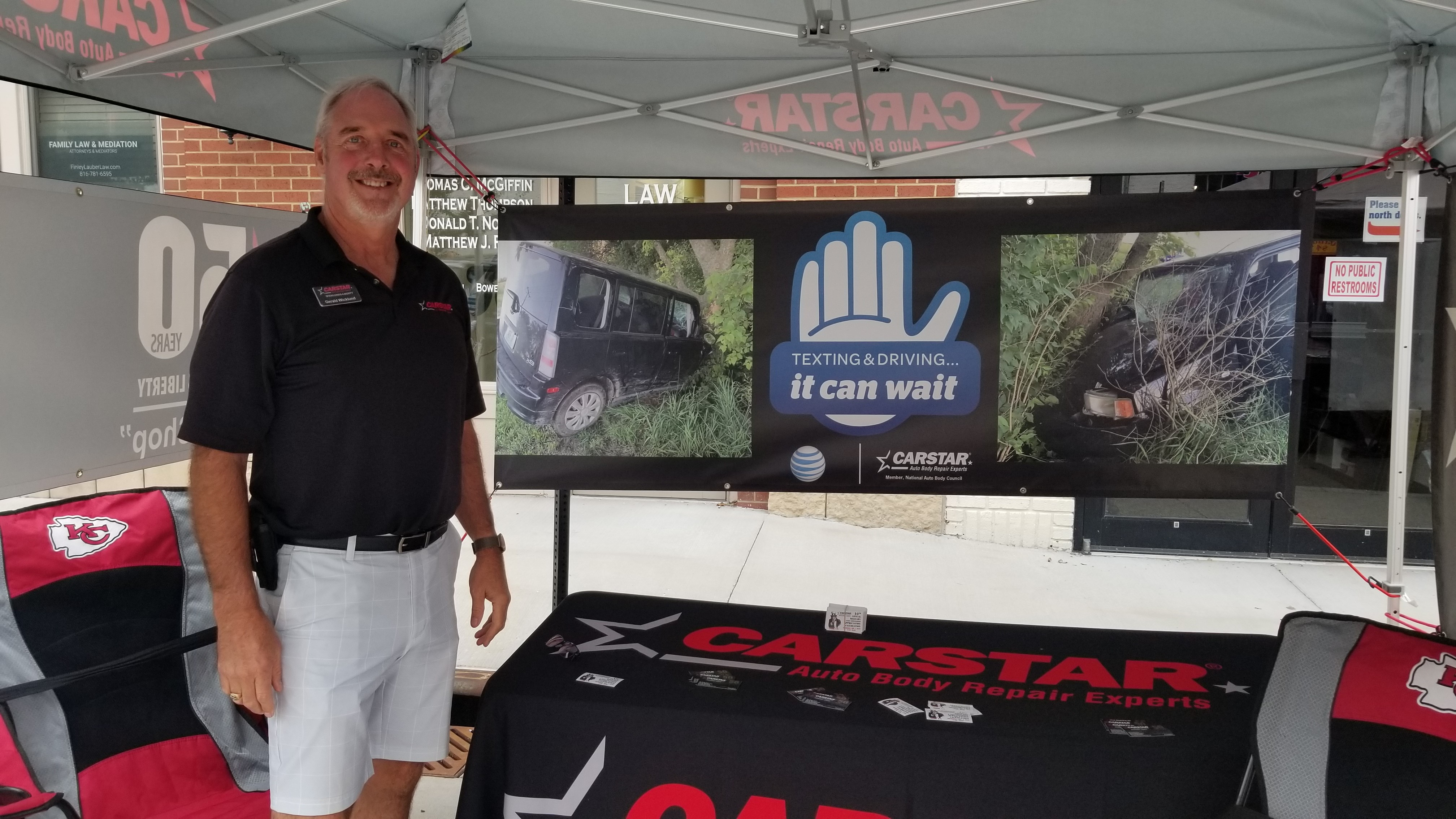 CARSTAR Wicklund It Can Wait Campaign