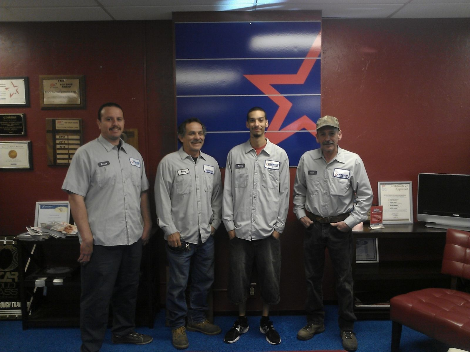 Eric's Auto Center CARSTAR: Shop Floor Staff