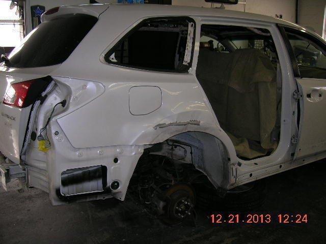 Gus' CARSTAR: Subaru Legacy - BEFORE