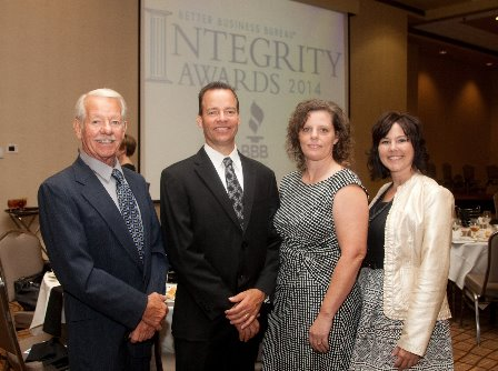 Lincoln NE Auto Body Repair BBB Integrity Award
