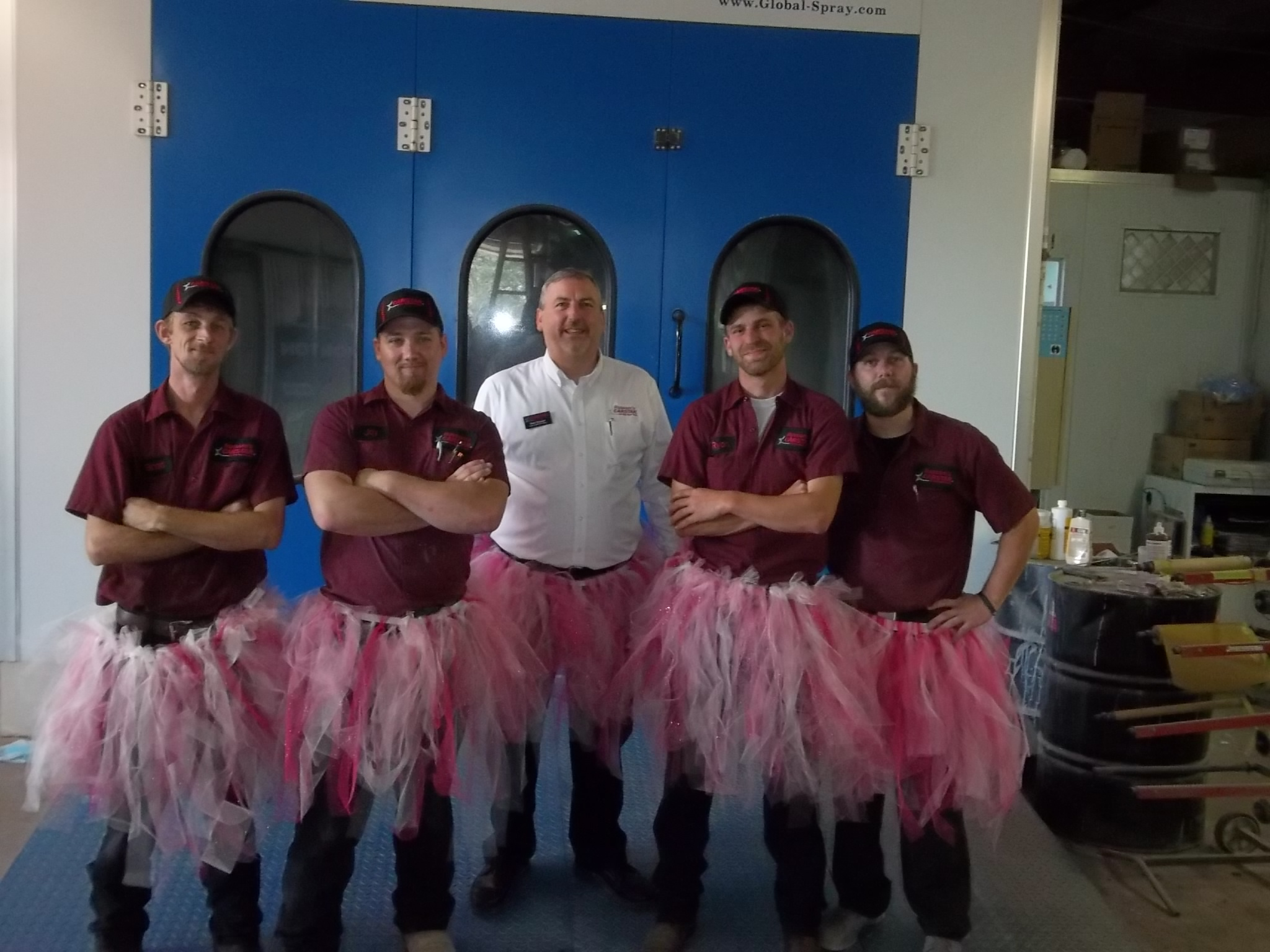 Russom's CARSTAR: Team in Tutus