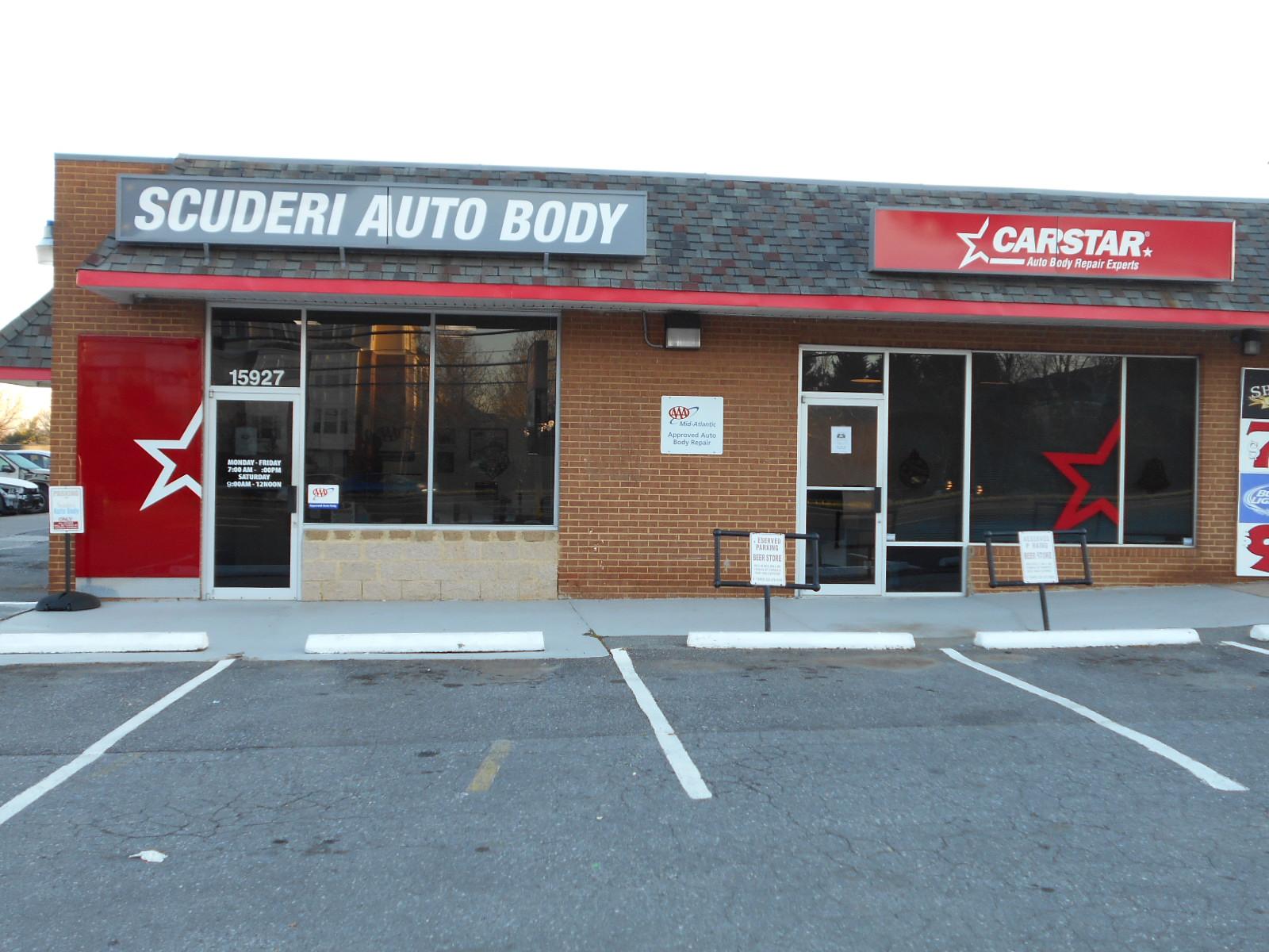 Carstar | Scuderi CARSTAR: Shop exterior