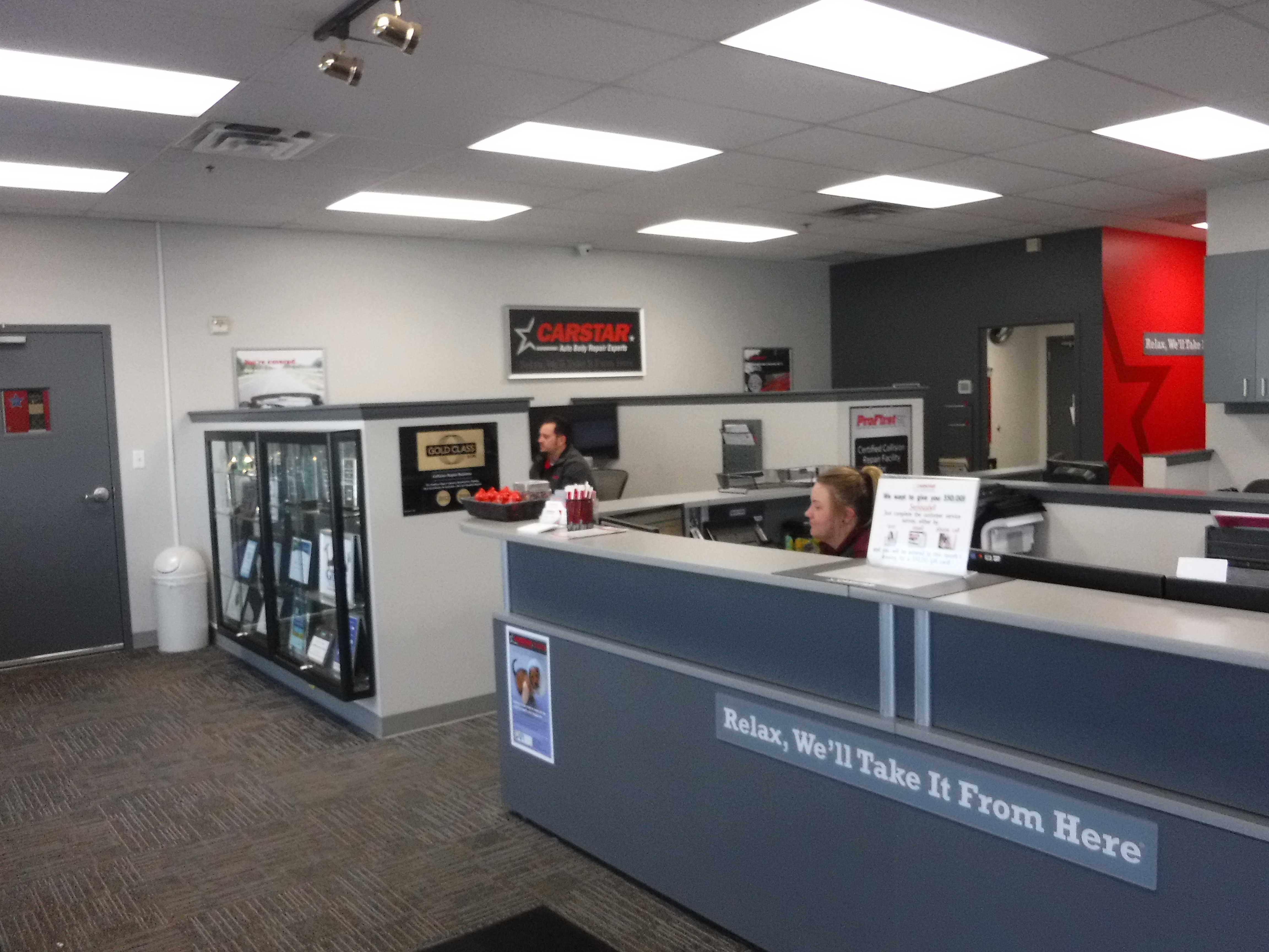 Jordan Road CARSTAR Collision Repair : Front Office
