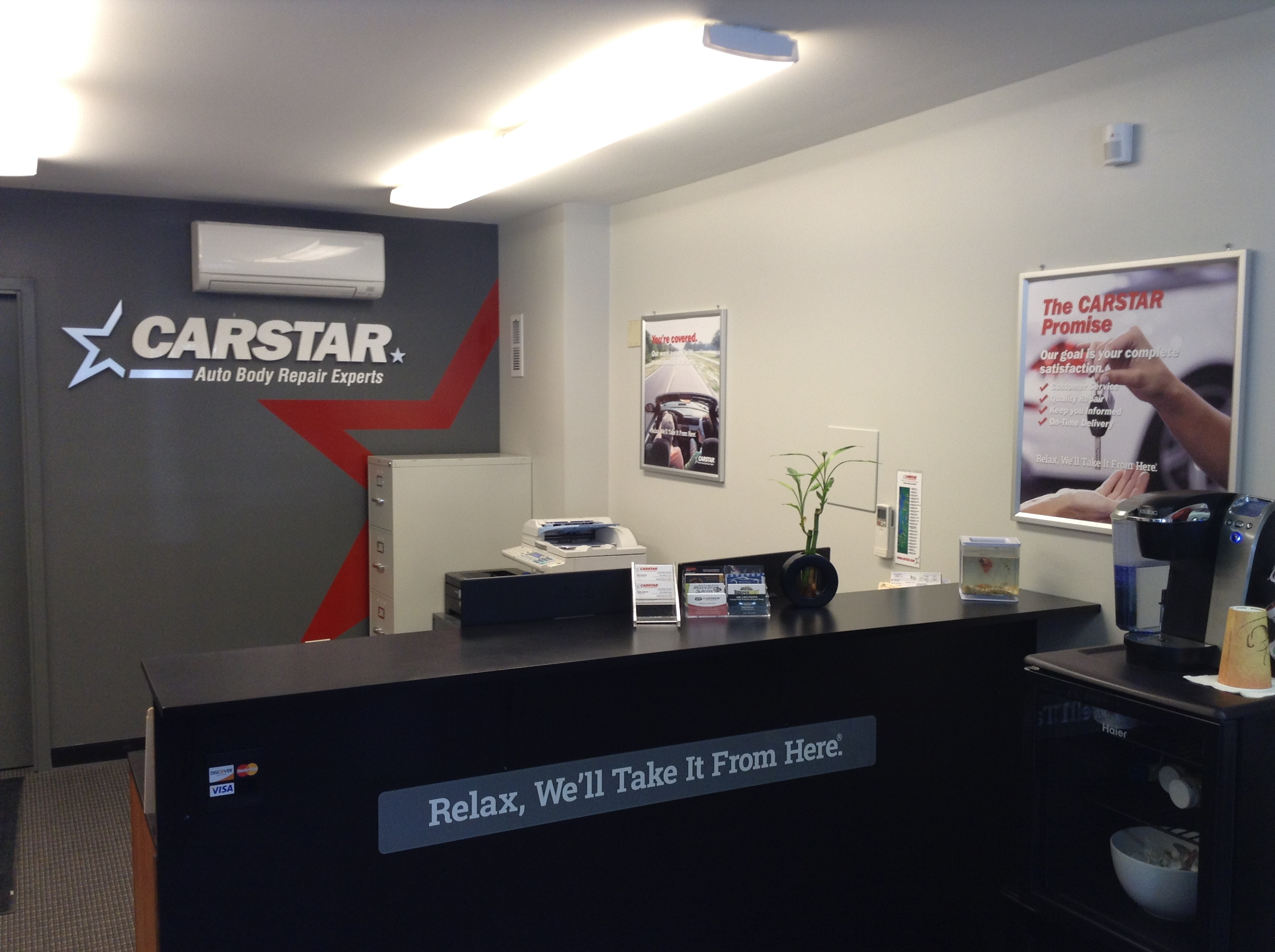 CARSTAR Bothell Auto Rebuild: Front Office