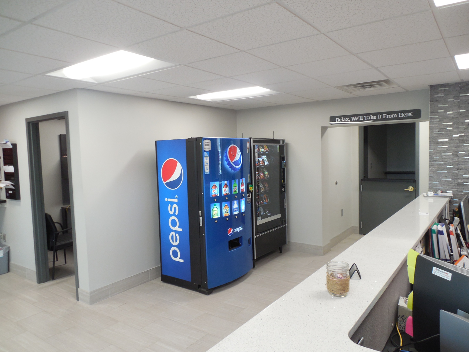 CARSTAR West Seneca: Customer Vending Machines