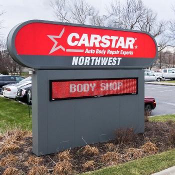 CARSTAR Northwest: Signage