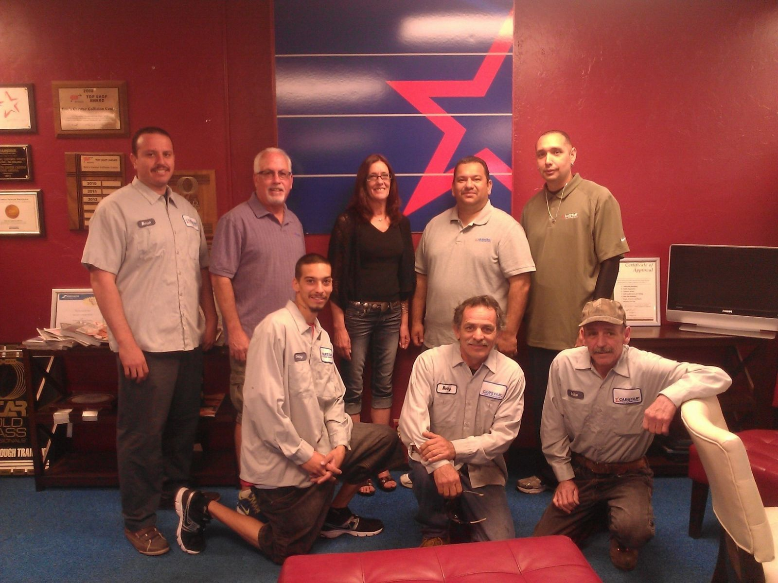 Eric's Auto Center CARSTAR: Full Staff