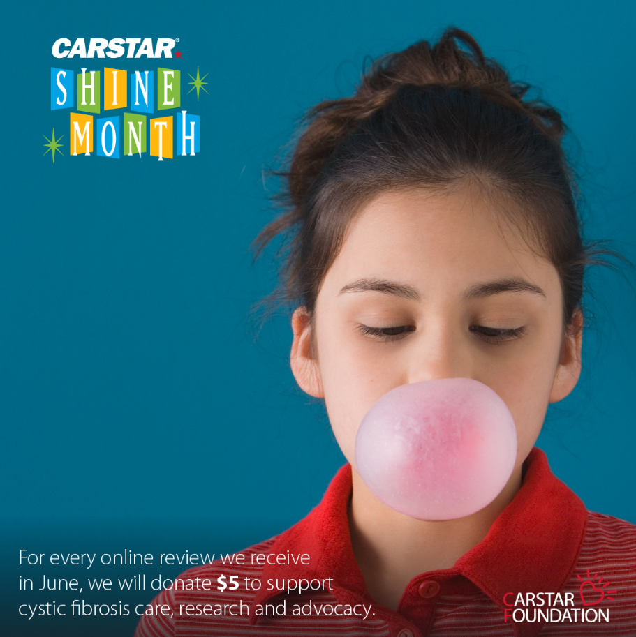 Carstar Alan Conner Collision Centers Shine Month for Cystic Fibrosis Research