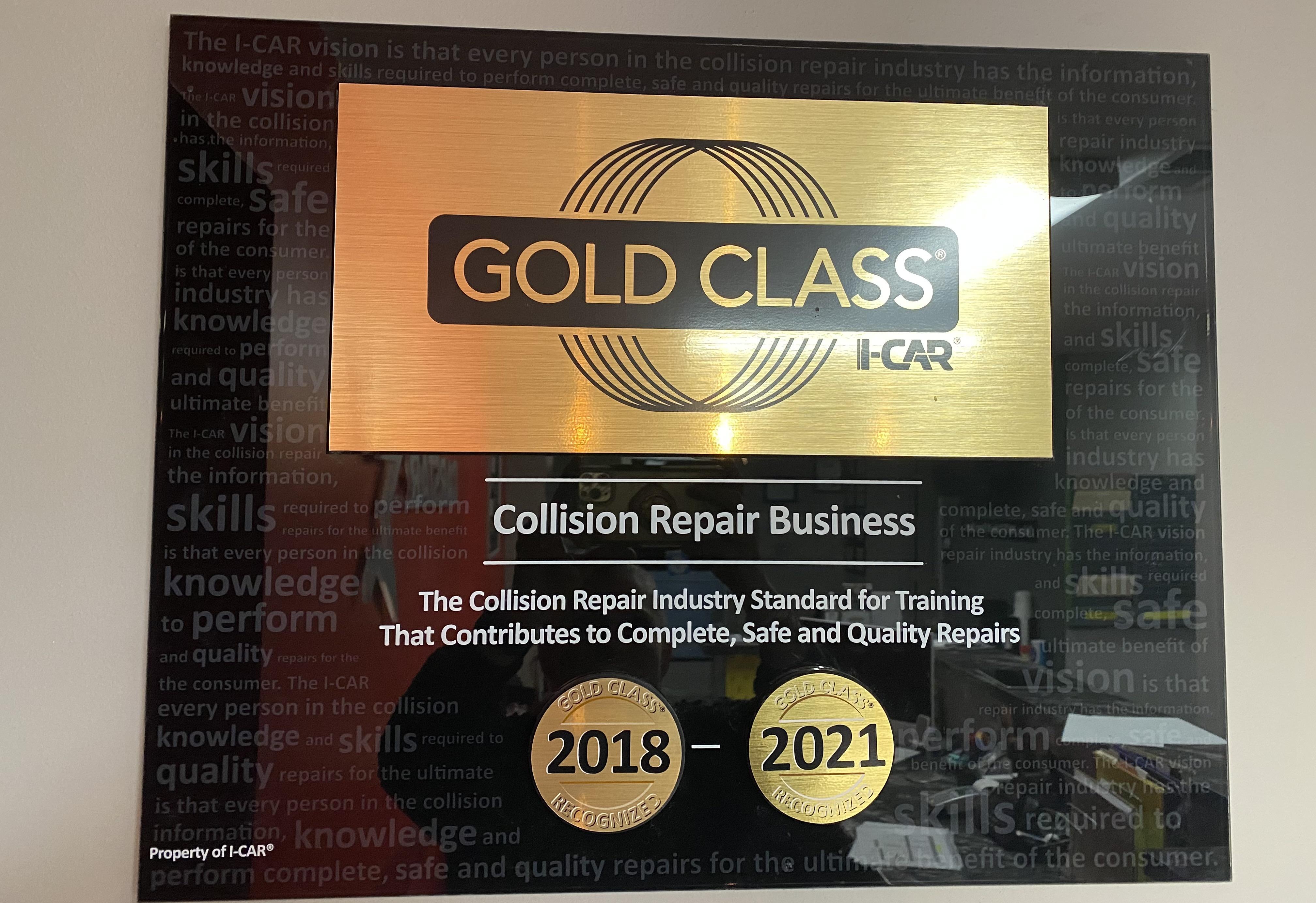 Carstar | I-CAR Gold Class Shop