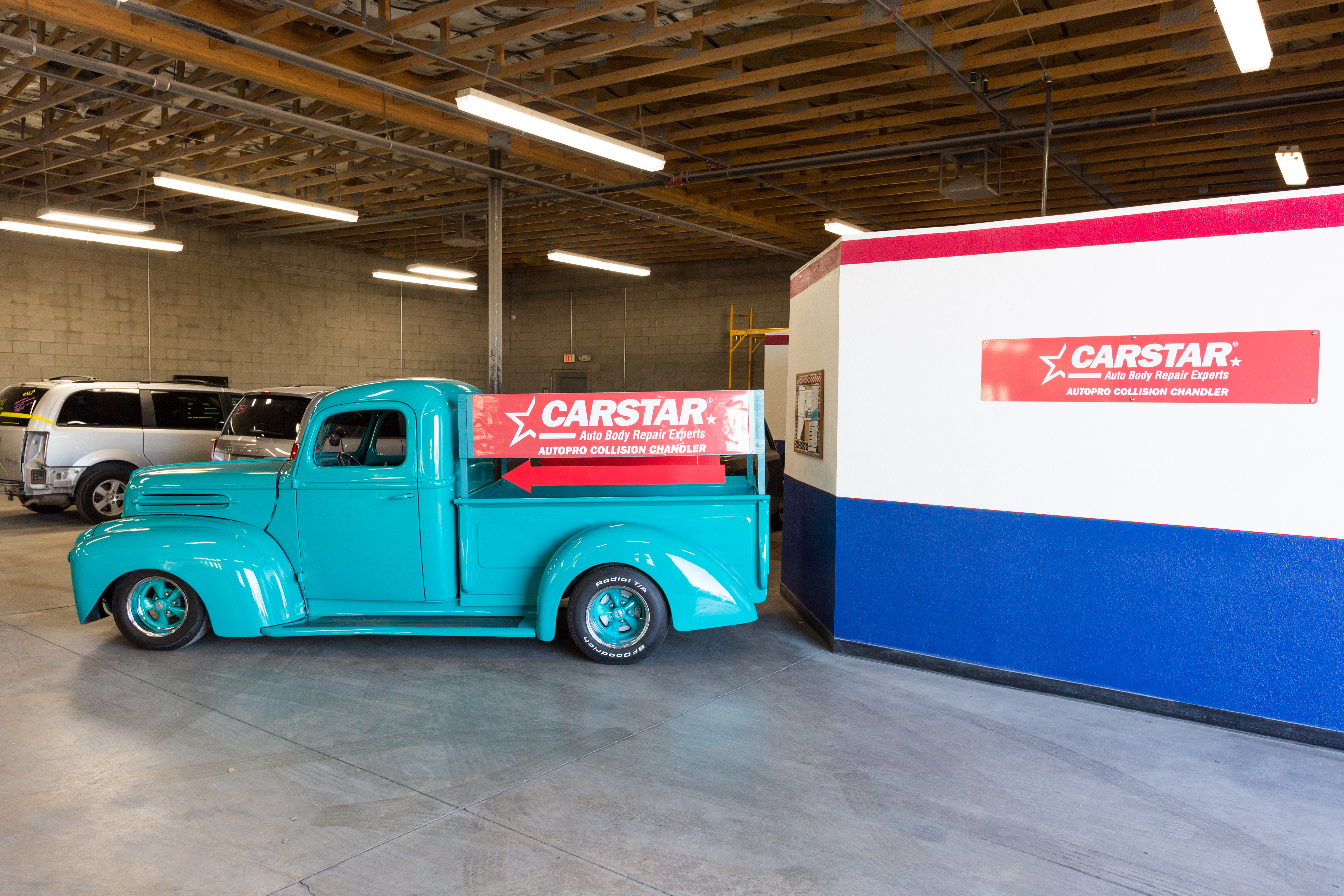 Carstar Chandler 1941 Ford In Paint Shop