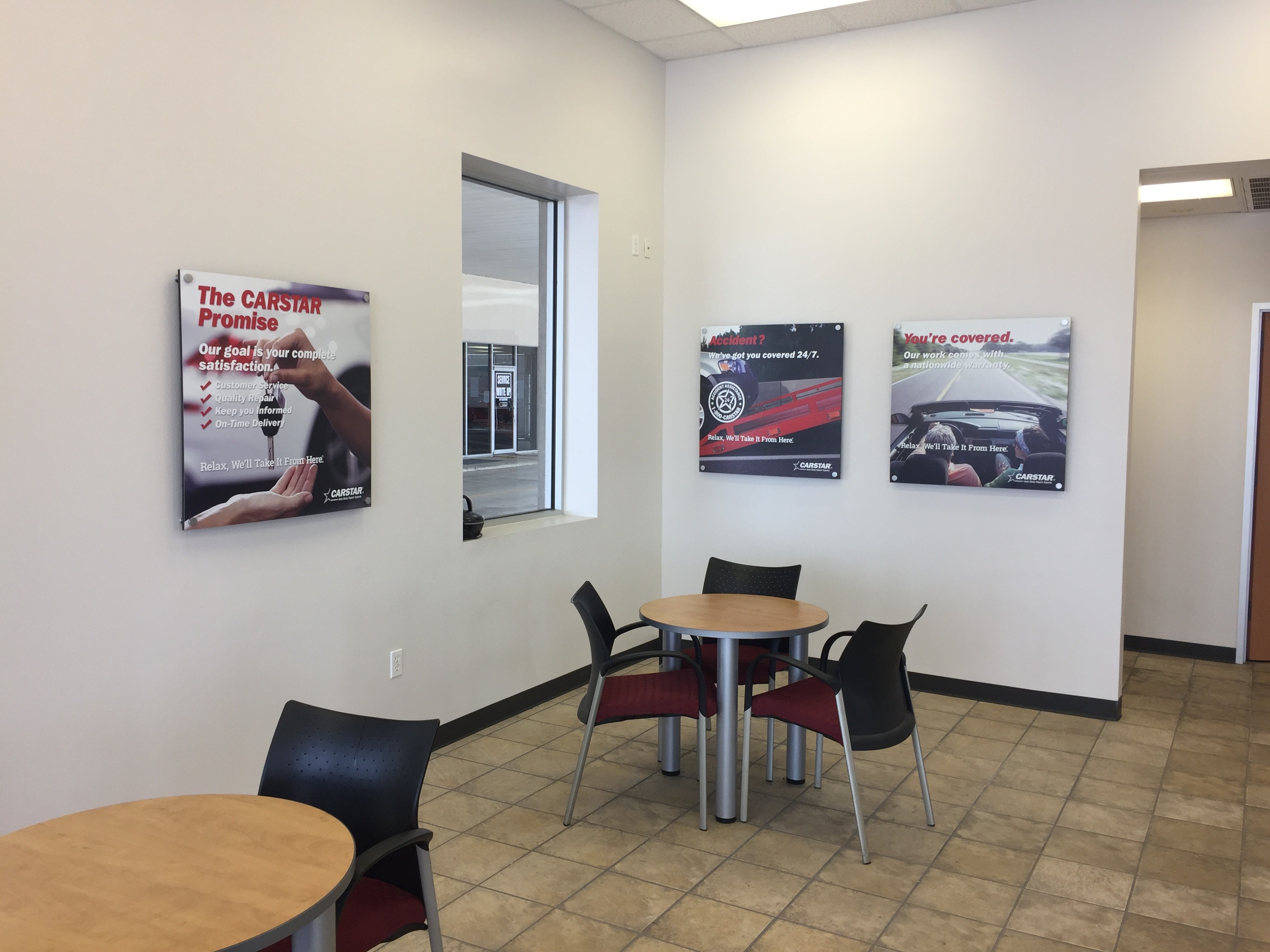 CARSTAR of Port Arthur Waiting Area