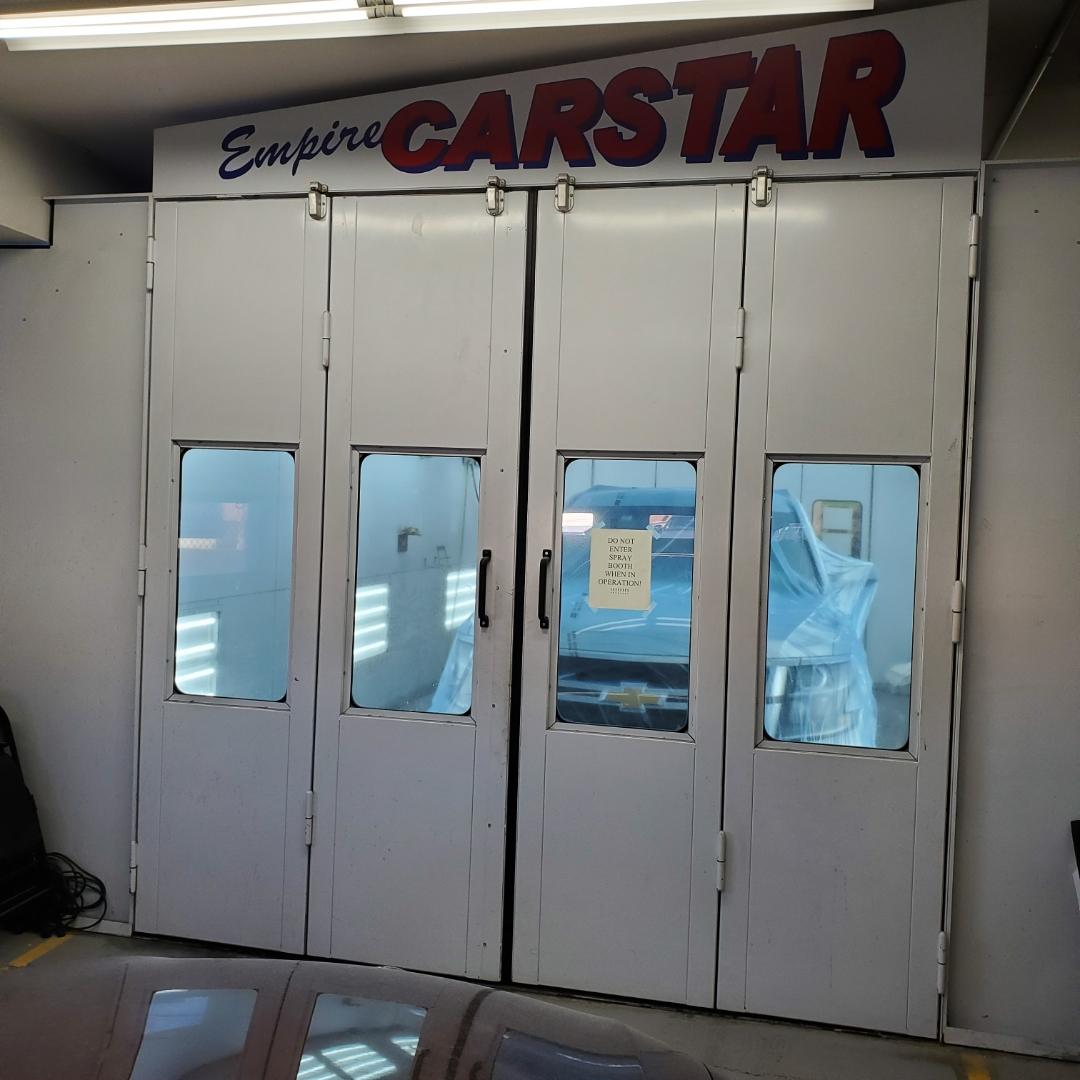 Carstar | spray booth