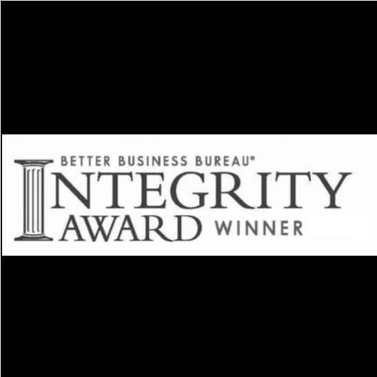 BBB Integrity Award Winner