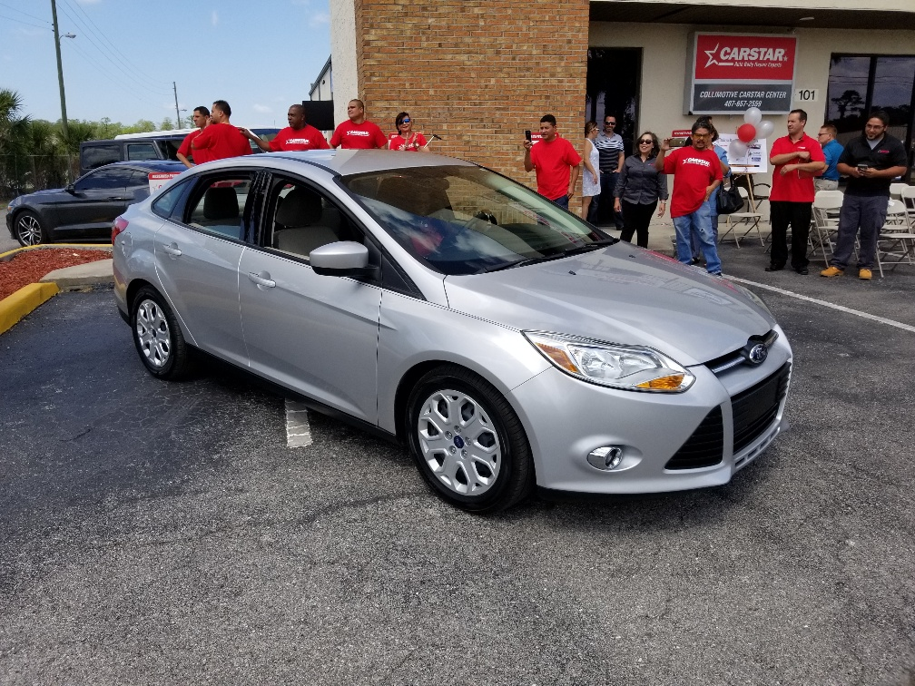 Ford Focus donation