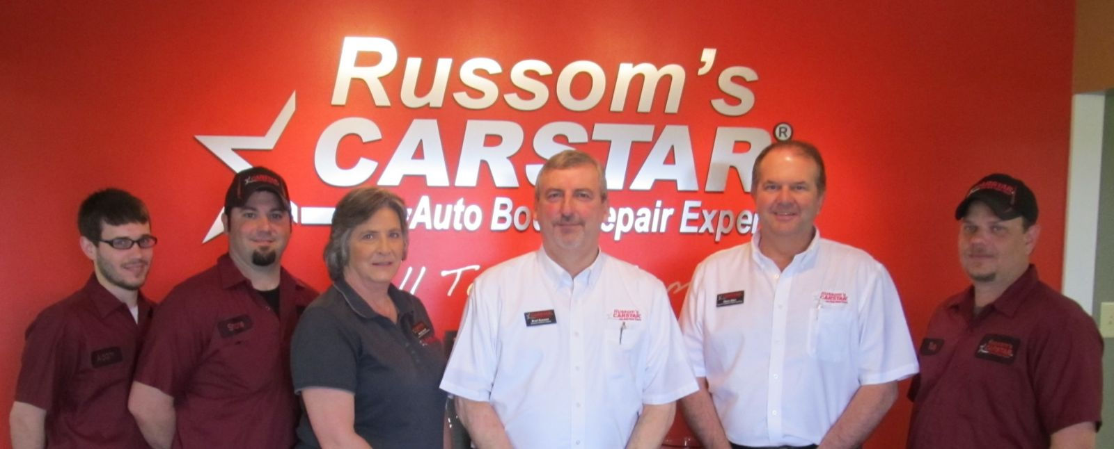 Russom's CARSTAR: Meet the Team