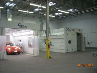 Pete's CARSTAR: Paint Booth