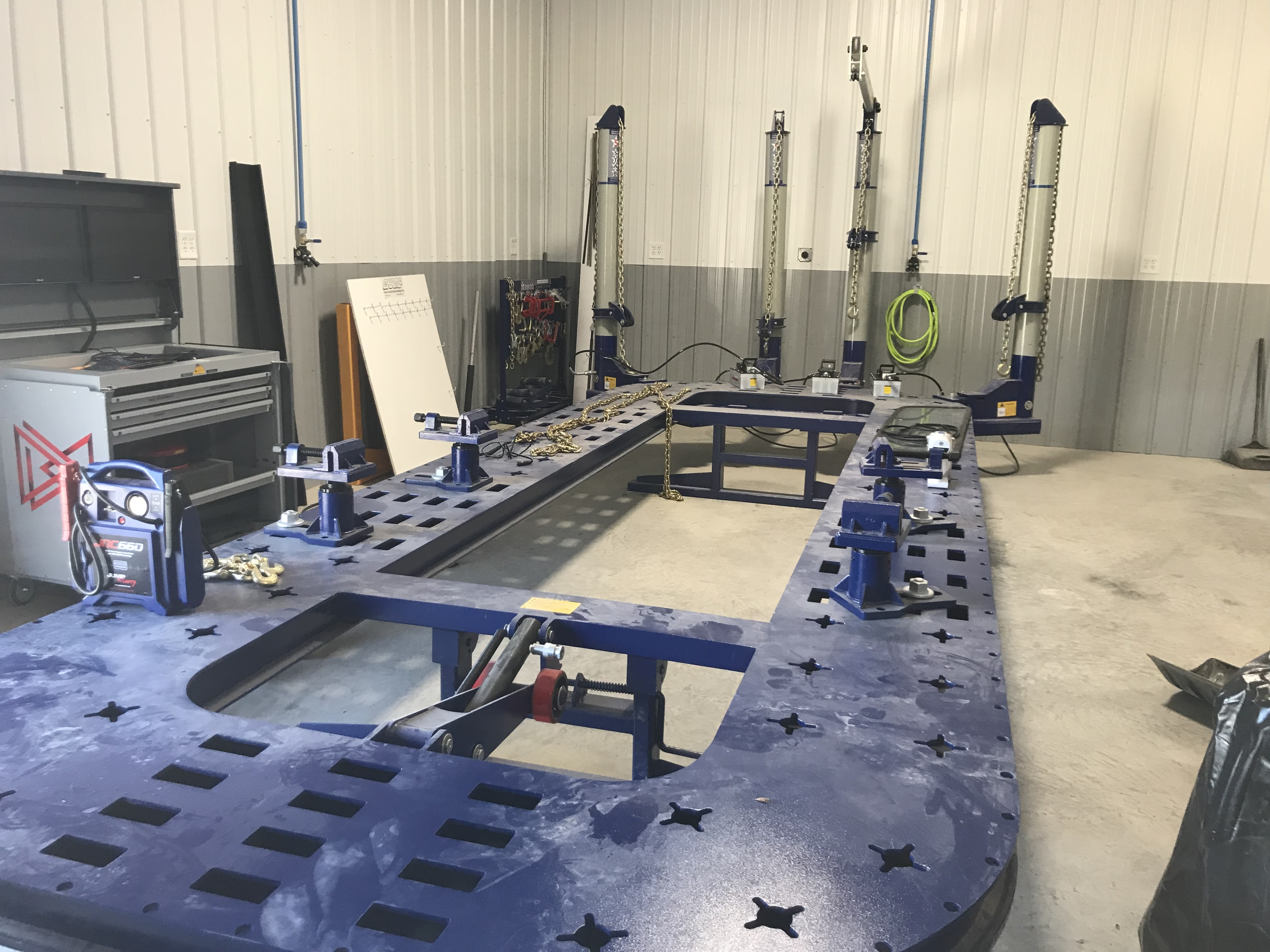 Frame Rack / Measuring System