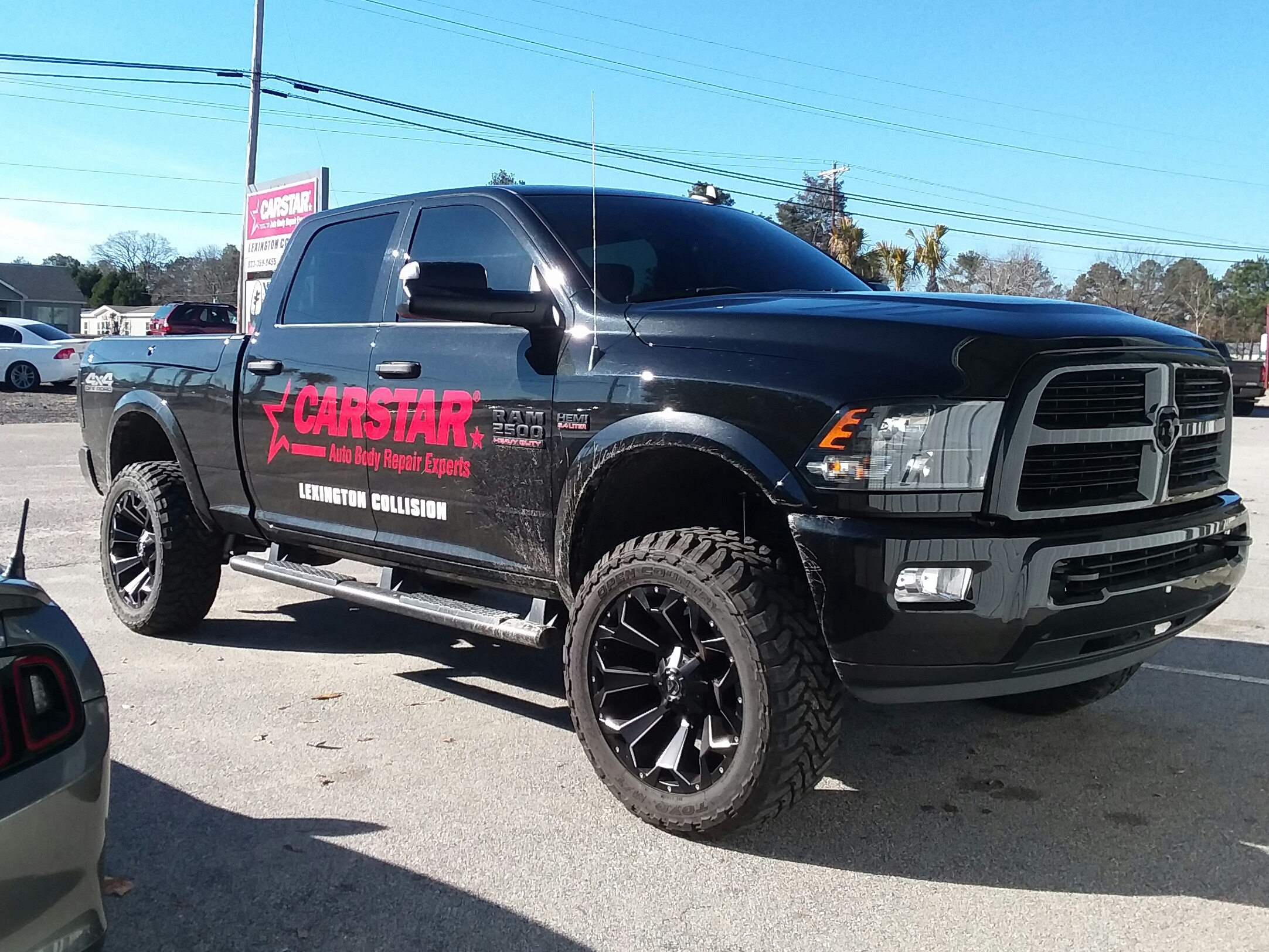 Carstar Lexington Collision Truck