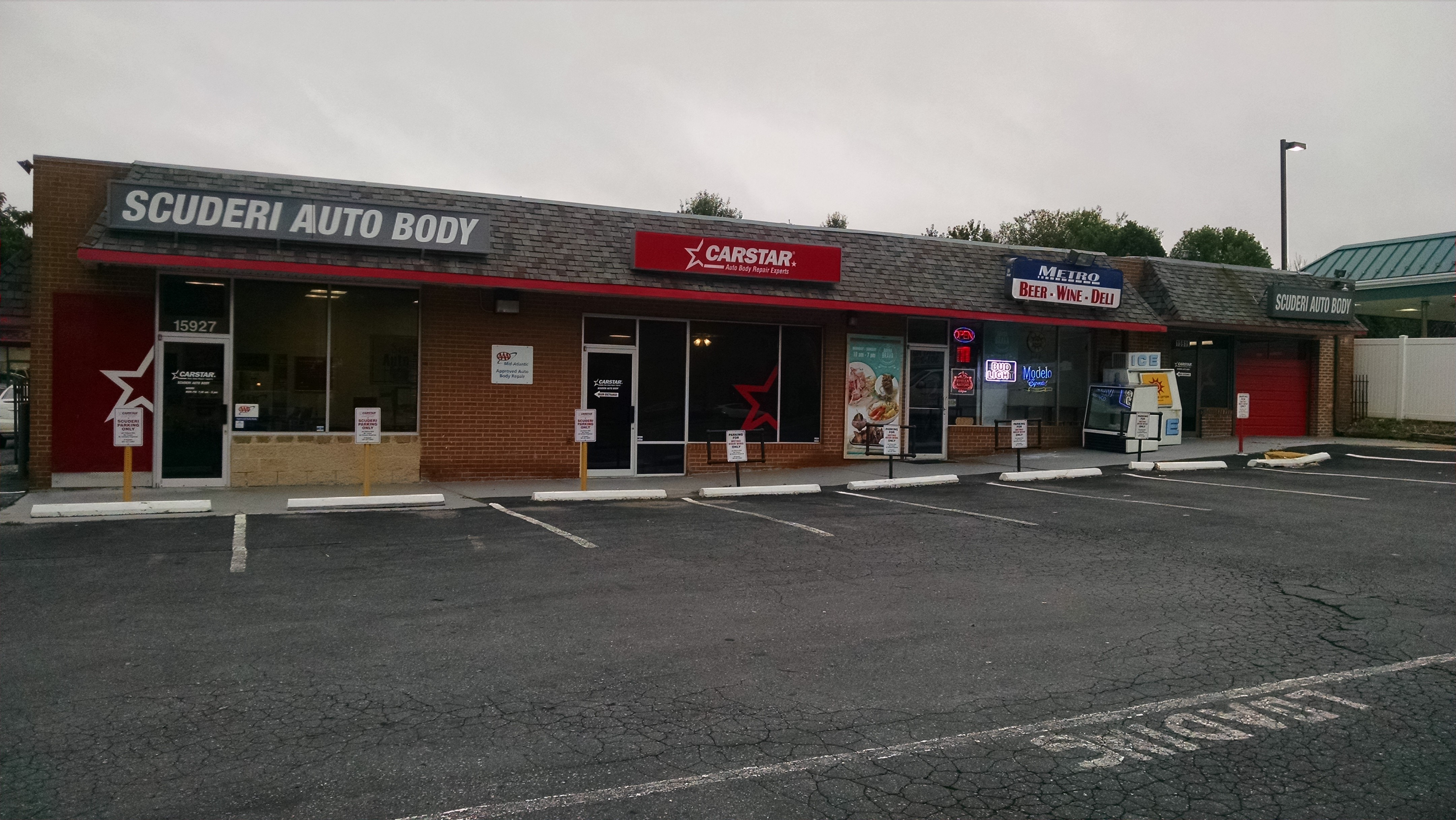 Scuderi CARSTAR Front Exterior of Building