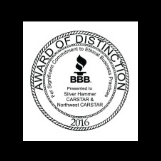 CARSTAR Northwest Auto Body Repair Experts: BBB Award of Distinction