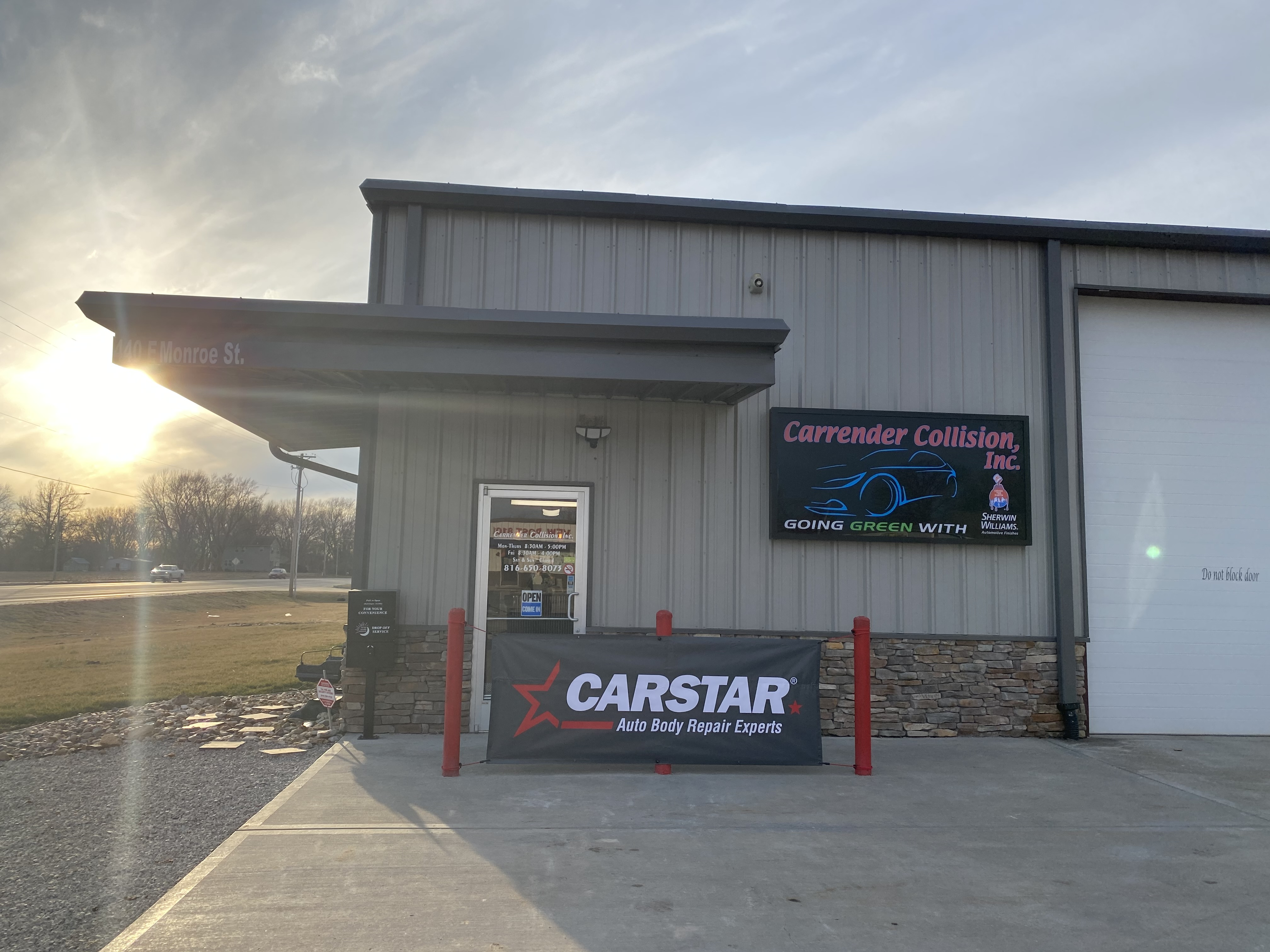 Carstar | Shop Entrance