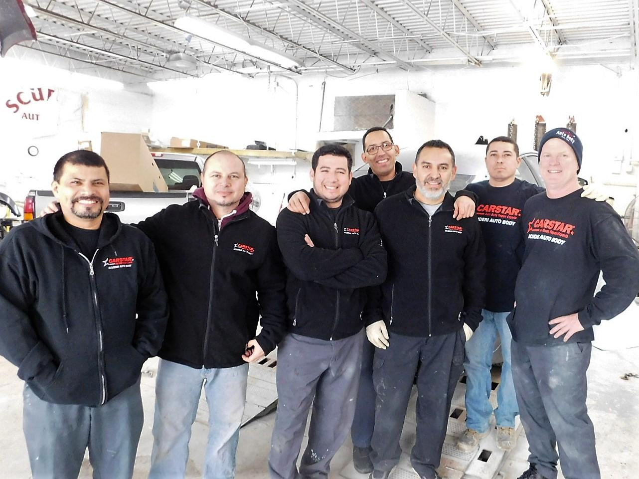 Scuderi CARSTAR Auto Body Repair Experts: Team