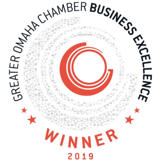 Excellence Award Winner Omaha Chamber of Commerce