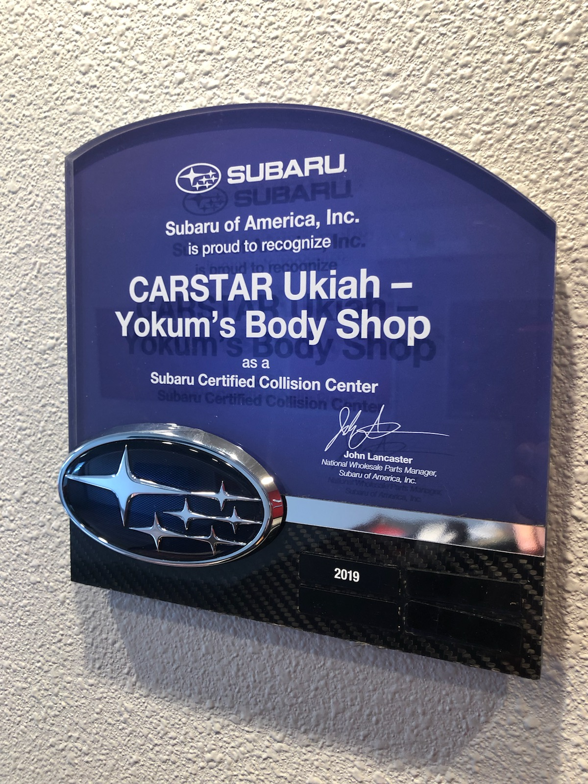 Carstar | Subaru Certified Collision Center - Ukiah - Yokum's Body Shop