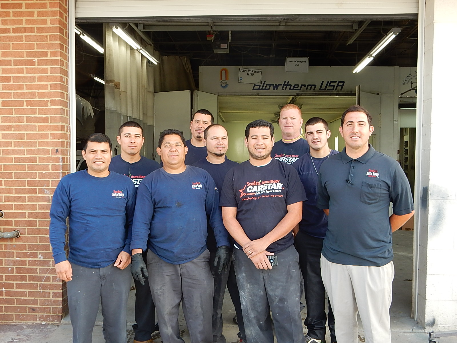 Scuderi CARSTAR: Shop Staff