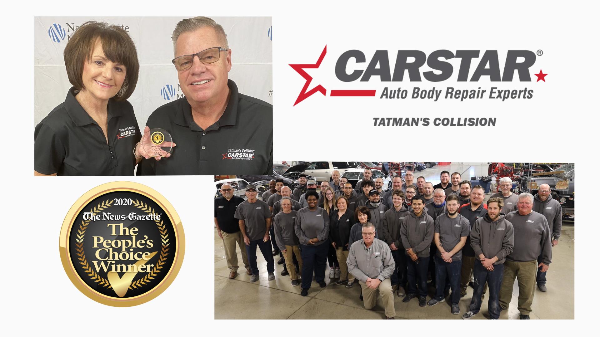 Carstar | People's choice winner 2 years in a row.