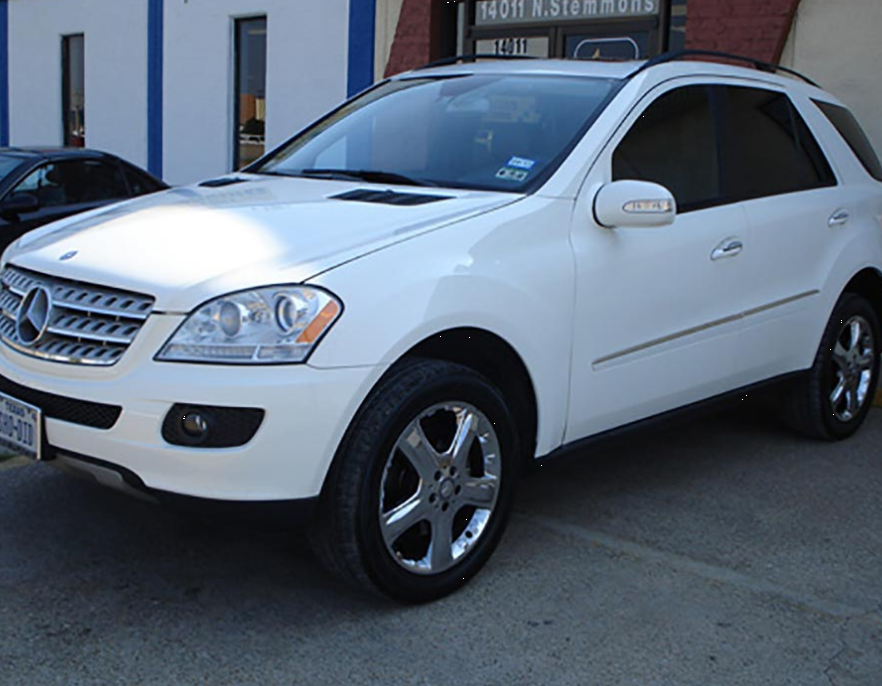 Mercedes SUV After Body Repair Damage Collision Dallas North Texas