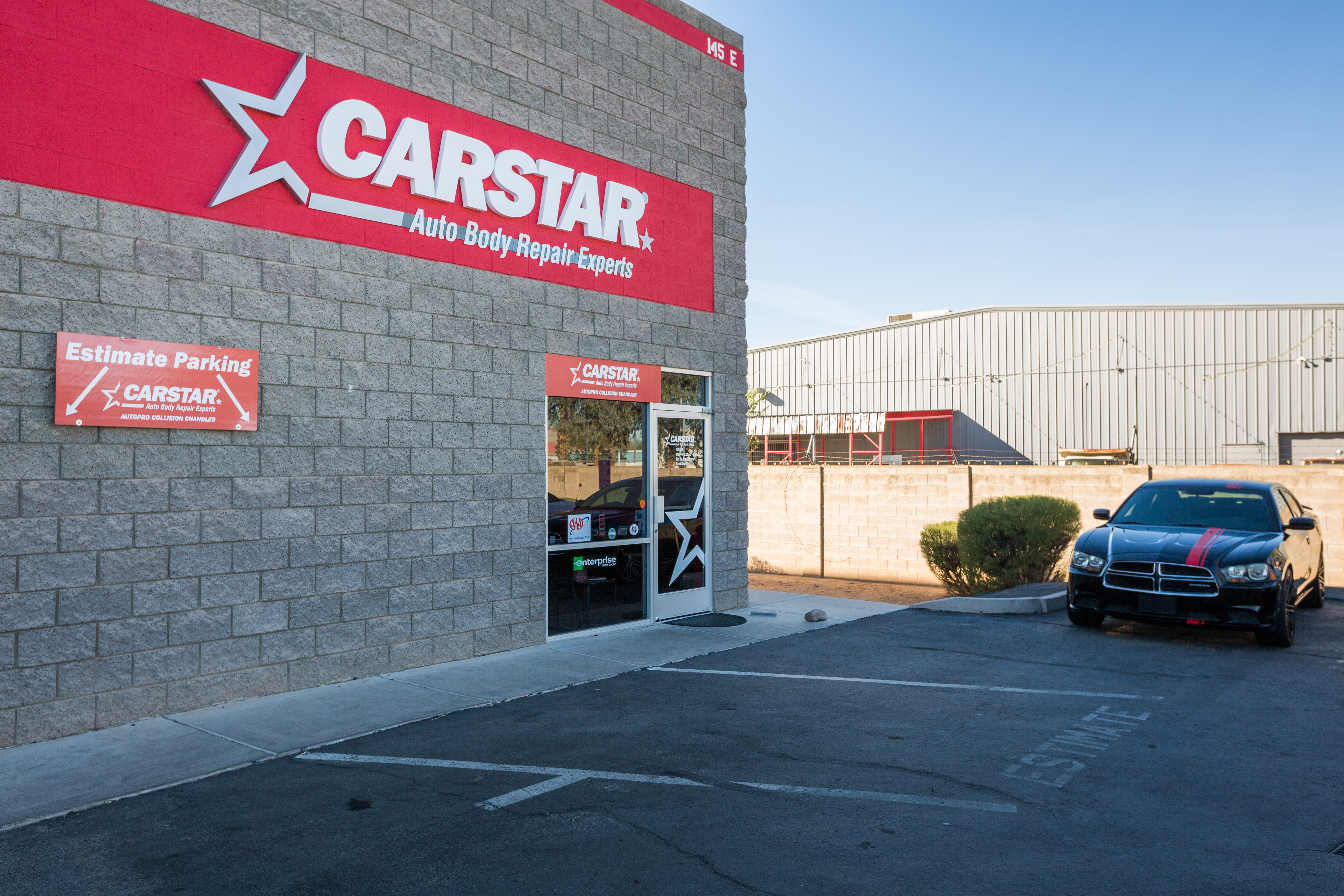 Carstar Chandler Estimate Parking