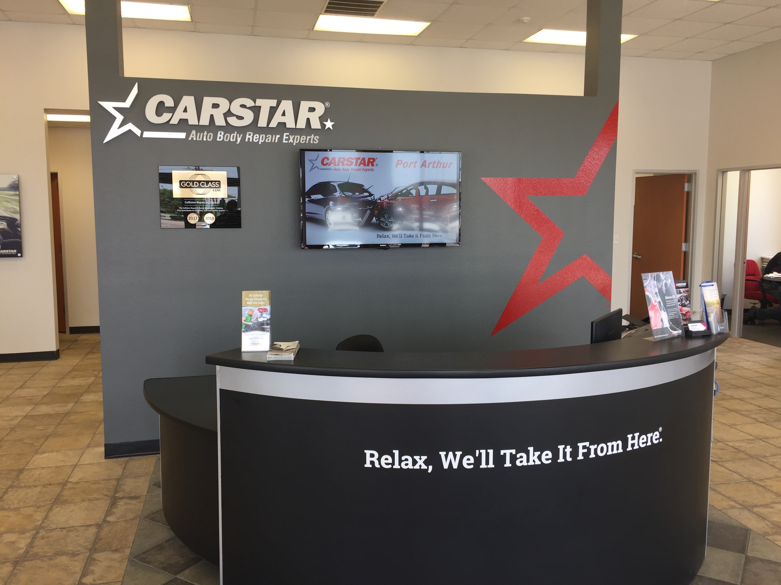 CARSTAR Port Arthur Welcome Wall