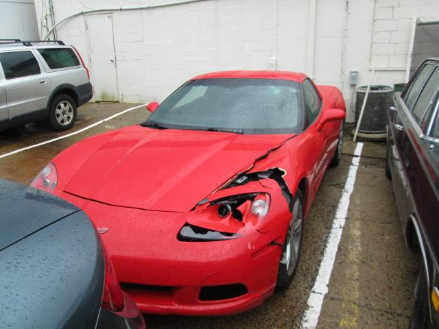 Scuderi CARSTAR: Corvette BEFORE