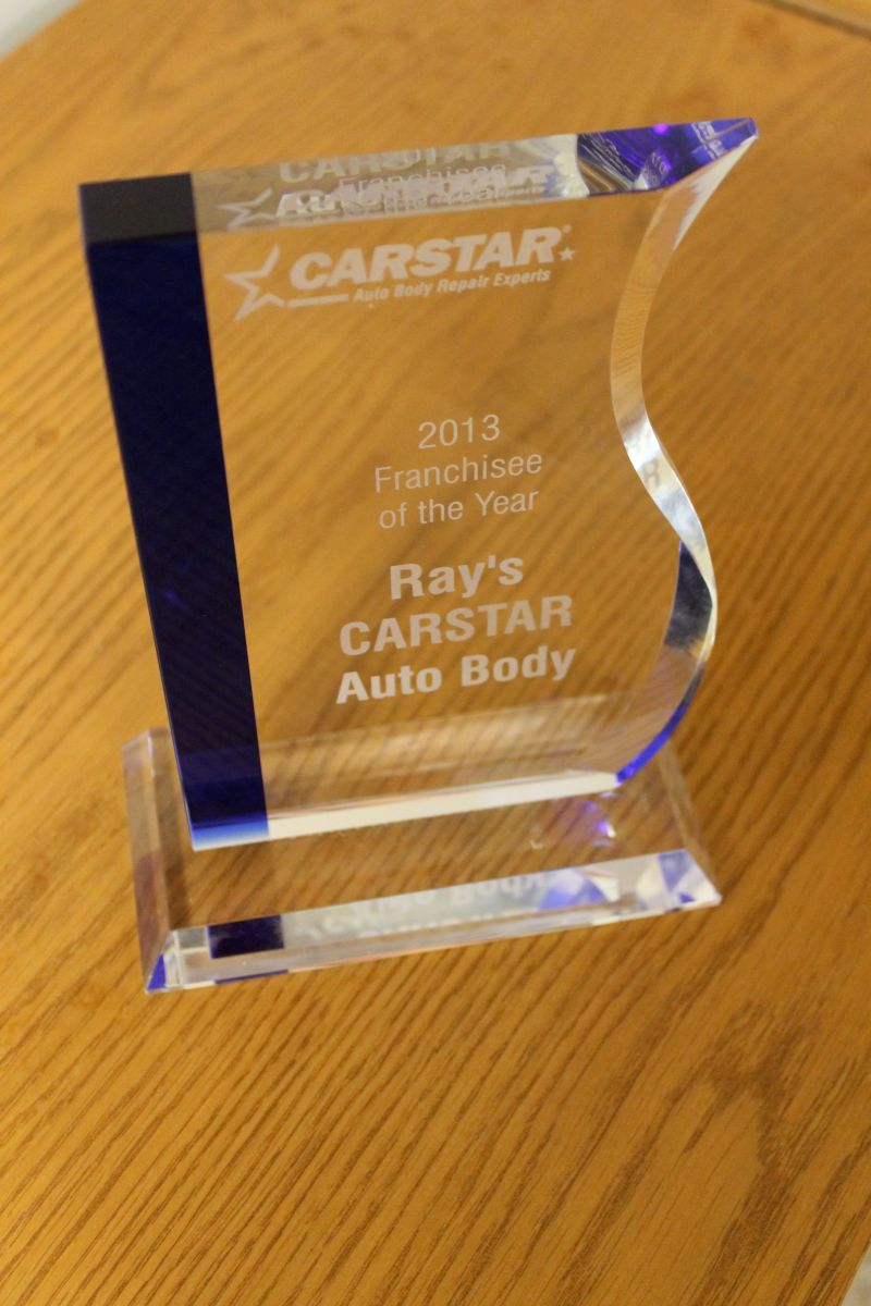 Ray's CARSTAR: 2013 Franchisee of the Year Award